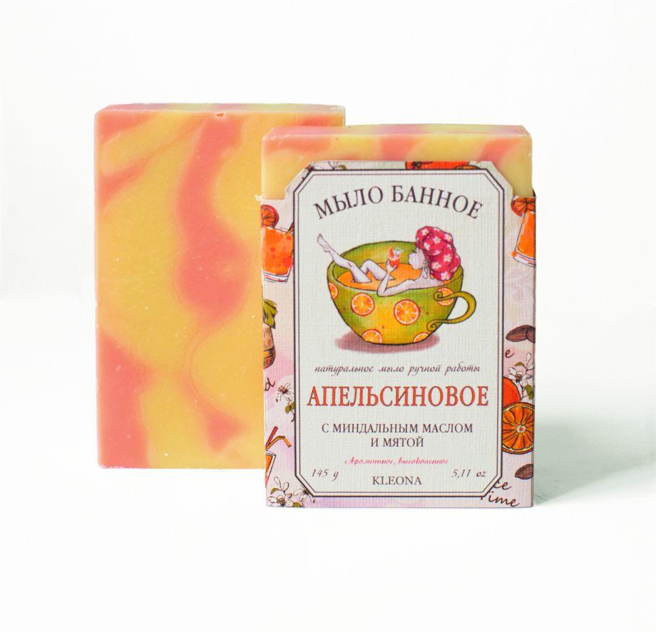 Банное апельсиновое мыло